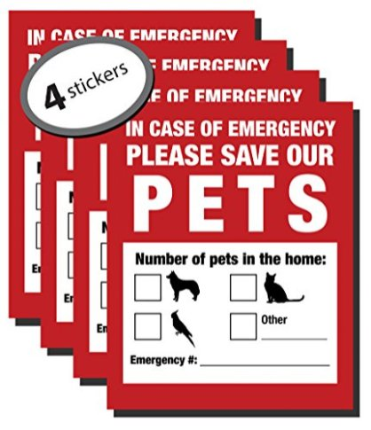 Pet-Inside-Finder-Sticker-4-Pack-Adhesive-on-FRONT-and-BACK-In-a-Fire-Emergency-Firefighters-will-see-alert-on-the-window-door-or-house-and-rescue-your-cat-dog-Safety-first-in-case-of-fire