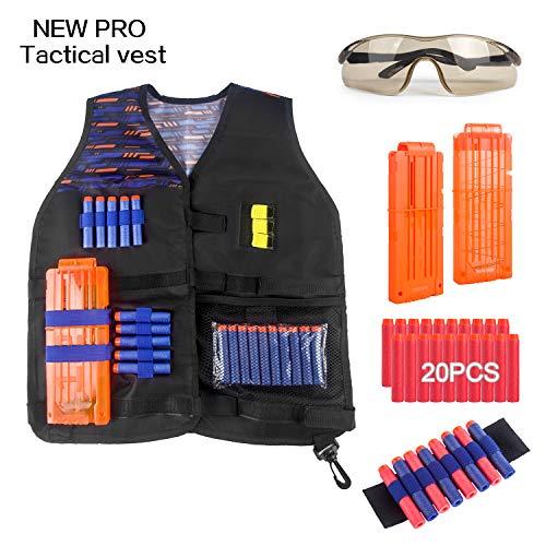 Tactical Vest Kit for Nerf Guns N-Strike Elite...