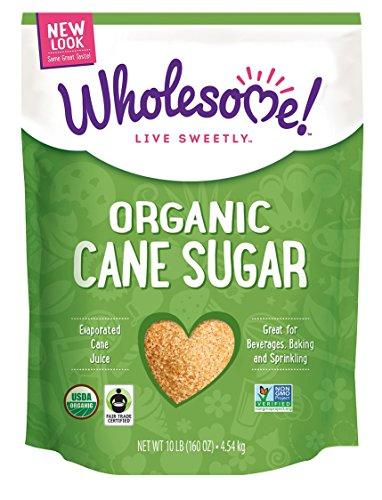 Wholesome Sweeteners Organic Fair Trade Sugar, 10 Pound