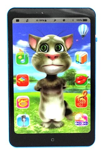 Talking Tom Interactive Learning Tablet, Black 145