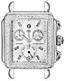 Product review of MICHELE Women's MW06P01A1046 Deco Diamond-Accented Stainless Steel Watch Head