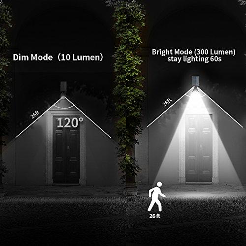 Solar-SpotlightsOPERNEE-Upgraded-Motion-Sensor-Solar-Lights-Outdoor-6-LED-Security-Lighting-Landscape-Light-Auto-OnOff-Waterproof-Wall-Light-for-Patio-Porch-Path-Deck-Garden-Garage-Driveway-2-pack