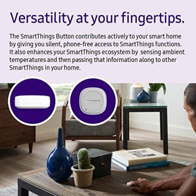 SAMSUNG-SmartThings-GP-U999SJVLEAA-Remote-Button-White