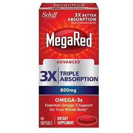 MegaRed Advanced Triple Absorption- Omega-3 Fish Oil Supplement