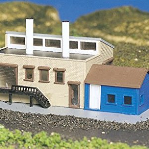 Bachmann Factory With Accessories – N Scale 51i7O3phL6L