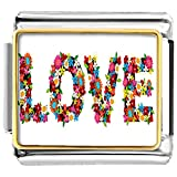 Pugster New Jewelry Love Charms Photo Italian Charms Link