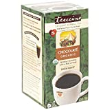 Teeccino Caffeine Free Herbal Coffee Tee-Bag, Chocolate, 25 Count