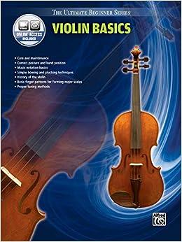 Amazon.com: Ultimate Beginner Violin Basics: Book & Online Video ...