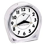 Nyl Holdings Westclox KEYWOUND WHITE ALARM CLOCK