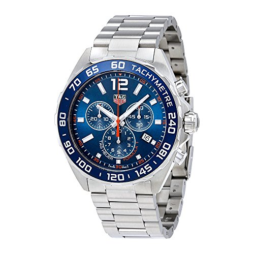 51iMvp%2BnqjL Discounted TAG Heuer Formula One Watch Brand New & Guaranteed Authentic Blue Dial with Orange Accents