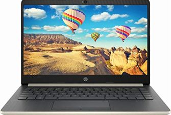 HP 2019 14' Laptop - Intel Core i3 - 8GB Memory - 128GB Solid State Drive - Ash Silver Keyboard Frame (14-CF0014DX)