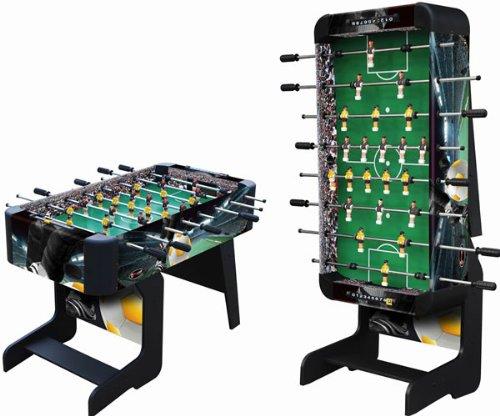 Playcraft Sport Foosball Table with Folding Leg, Black, 48-Inch