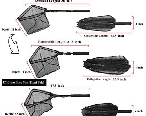 Top 10 best fishing nets for saltwater best of 2018 for Fish call review
