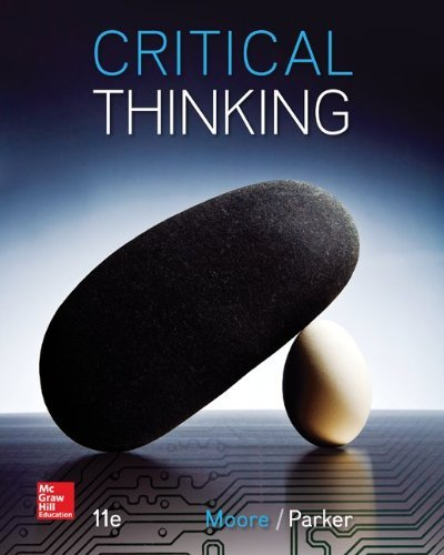 By Brooke Noel Moore Critical Thinking (11th Eleventh Edition) [Paperback]