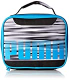 PUMA Boys' Little' Backpacks and Lunch Boxes, Gray/Blue, Youth