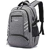 College Laptop Backpack, Laptop Bag Casual Backpack with USB Charging Port School Bookbag, Campus Backpack, Travel Bag Computer Bag Rucksack, Fits 15.6' Laptop & Notebook