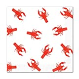 Crawfish Luncheon Napkins (2-Ply)    (16/Pkg)