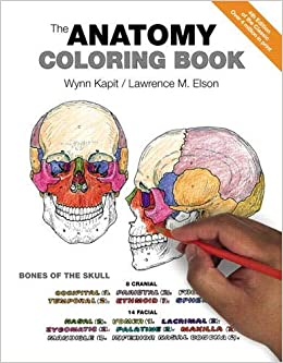 The Anatomy Coloring Book 0642688054786 Medicine Health Science Books Amazon Com