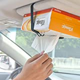 Wanpool Car Visor / Headrest Strap Holder For Kleenex Facial Tissues and Other Napkin Paper Boxs
