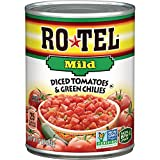 ROTEL Mild Diced Tomatoes and Green Chilies, 10 Ounce