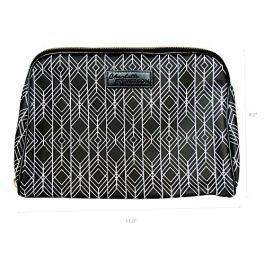 Milan Cosmetic Bag – Charlotte & Emerson – Makeup, Toiletry and Skincare Travel Case – Beauty Product Pouch with Pockets…