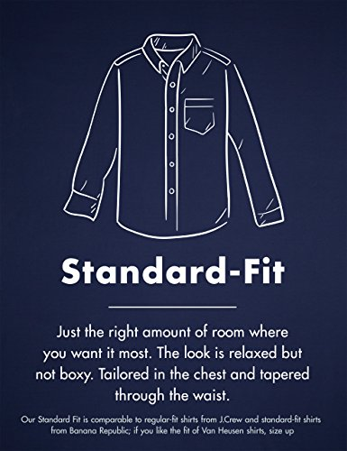 Amazon Brand - Goodthreads Men's Standard-Fit Long-Sleeve Gingham Plaid Poplin Shirt 19 Fashion Online Shop gifts for her gifts for him womens full figure