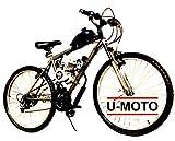 Cyclone Complete 2-Stroke 66cc/80cc Motorized Bike KIT with 26' 18-Speed MT Bike