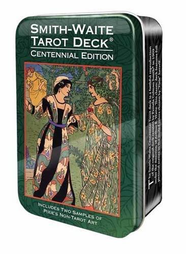 Smith-Waite Centennial Tarot Deck in a Tin