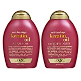 OGX Anti-breakage Keratin Oil Shampoo & Conditioner (13 Ounces)