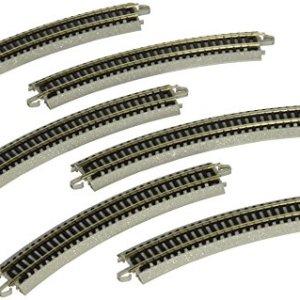 Bachmann 11.25″ Radius Curved Track (6/Card) – N Scale 51iqMVVK3pL