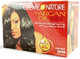 Creme of Nature With Argan Oil No-Lye Relaxer, Super (Pack of 3)