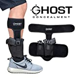 Ghost Concealment Ankle Holster for Concealed Carry Pistol | Universal Leg Carry Gun Holster with Magazine Pouch | Men and Woman