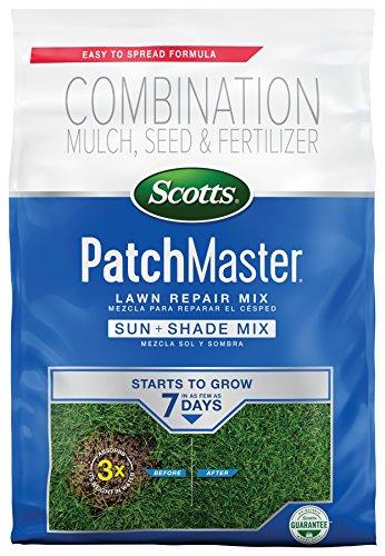 Scotts 14902 PatchMaster Lawn Repair Sun & Shade Mix-290 sq. ft, 10 LB