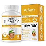Organic Turmeric Curcumin C3 Complex - Bioperine Black Pepper, Boswellia & Ginger - [Clinically Proven C3 Turmeric] - 95% Standardized Curcuminoids - Inflammation & Joint Supplement, 60 Capsules