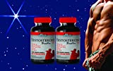 Organic Testosterone Booster for Men - Top Testosterone Booster 785 - Natural Male Enhancement to Boost Energy, Libido and Endurance with Herbal Testosterone Boosting Formula (2 Bottles)
