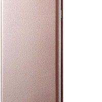 Microsonic Samsung Galaxy A50 Kılıf Ultra Slim Leather Design Flip Cover Rose Gold 15