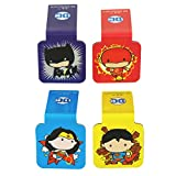 """Ata-Boy DC Comics Justice League Chibi Set of 4 1"""" Magnetic Page-Top Bookmarks"""