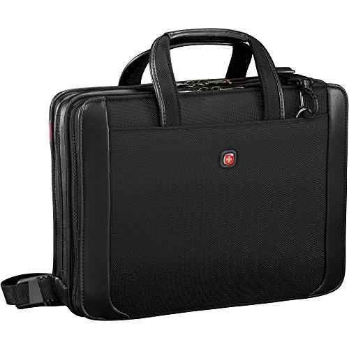 Wenger Luggage Proxy 14' Zippered Laptop Presentation Padfolio, Black