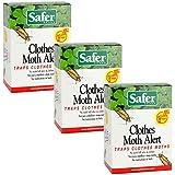 Safer 07270-AMAZ Clothes Moth Trap, 3 Pack (6