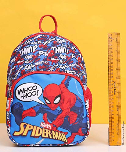 Marvel spider man 12 inch 10l sublimation printed polyester school backpack for kids, blue/red | latest news live | find the all top headlines, breaking news for free online april 5, 2021
