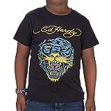 Ed Hardy Little Boys' Toddlers Tiger Tshirt - Black - 4/5