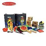 Melissa & Doug Deluxe Magic Set, Kids Magic Set, 10 Classic Tricks, Step-By-Step Instructions, 3.8' H x 14.1' W x 9.6' L