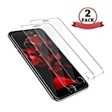 tengsu Screen Protector for iPhone 8 iPhone 7 (2-Pack), [3D Touch Compatible] HD Clear Anti-Glare and Bubble-Free Tempered Glass Screen Protector for iPhone 8 iPhone 7