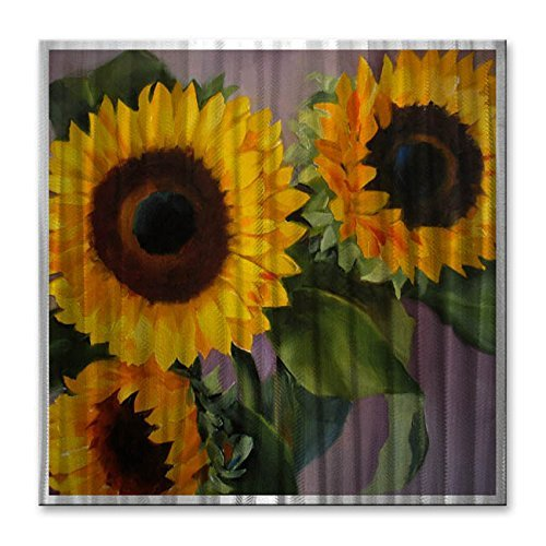 Vintage Sunflower Wall Decor : Bright bold and charming sunflower wall decorations