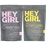 Detox Tea + Energize Herbal Teatox Bundle | Day Time Metabolism Booster + Nighttime Body Cleanse