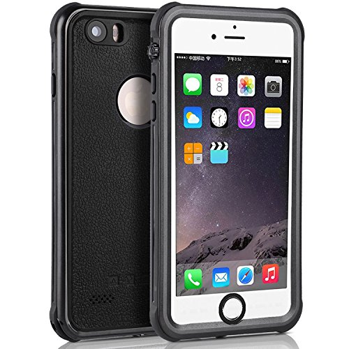 iPhone 6 Waterproof Case, Full Sealed Dry Cover Multifunctional [Heavy Duty] Underwater/Shockproof/Dirtproof/Snowproof Case for iPhone 6