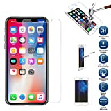 yanbirdfx Phone for iPhone X XS Max XR 2.5D 9H Premium Tempered Glass Screen Protector Film for iPhone X XS Max XR for iPhone XS Max