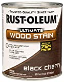 RUST-OLEUM 260152 Quart Black Cherry Interior Stain