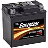 Energizer ETX5L AGM Motorcycle and ATV 12V Battery, 70 Cold Cranking Amps and 4 Ahr.  Replaces: YTX5L-BS and others