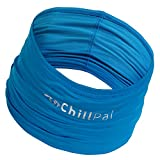 Chill Pal 12 in 1 Multi Style Cooling Band (Blue, Full Size)